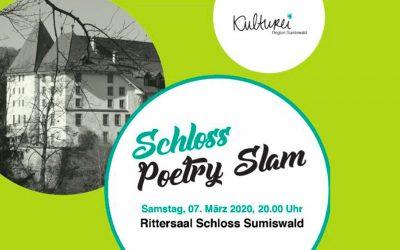 Schloss Poetry Slam am Samstag 07. März 2020